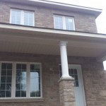 Soffit, Fascia and column work