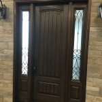 steel front door sidelights