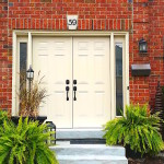 double steel front door