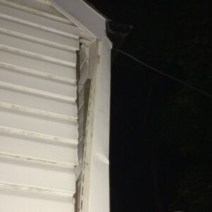 damaged siding and repair