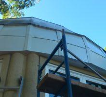 Dome installation