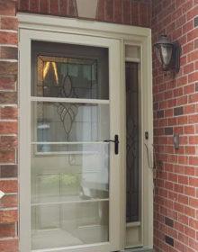 New steel front door