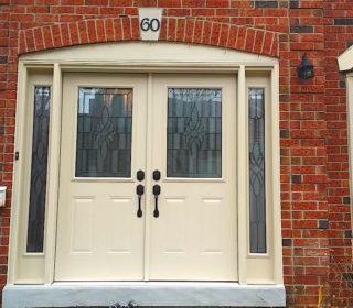 new still front door